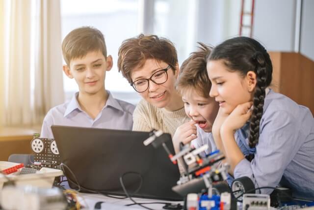 ロボット教室 男女