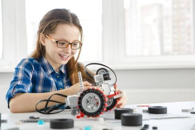 ロボット教室子供