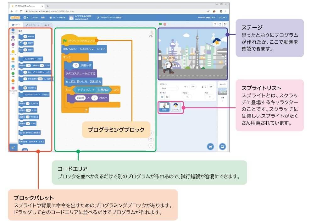 Z会プログラミング講座スクラッチ