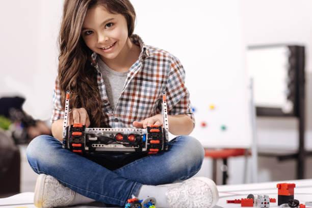 ロボットプログラミング子供