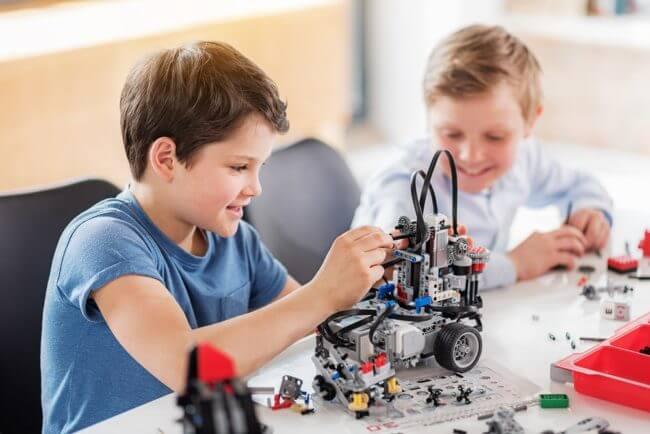 子供やる気ロボットプログラミング