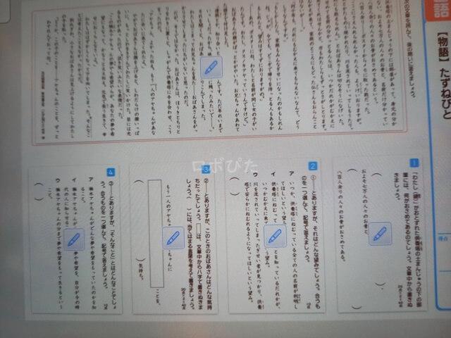 国語テスト対策チャレンジタッチ