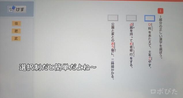 チャレンジタッチ漢字