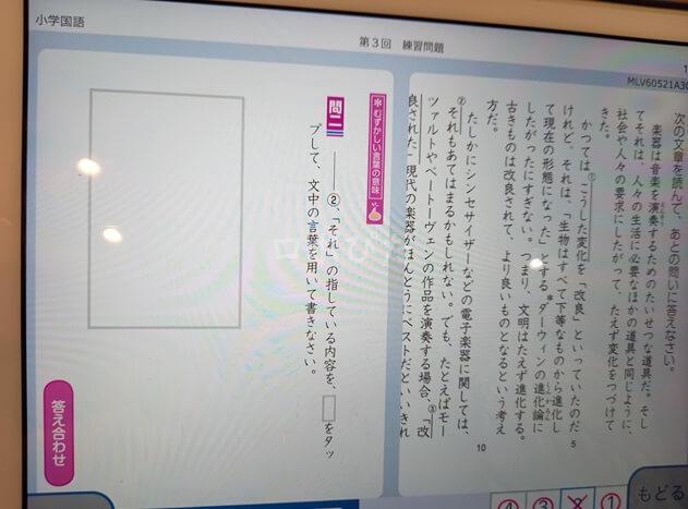 Z会タブレット小学生国語